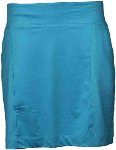 Page and Tuttle Womens Knit Pull On Skort Casual Shorts Skort, Blue, M