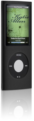 Digital Lifestyle Outfitters DLA63031/17  Jam Jacket Grafik for iPod nano 4G, Laser Cut Cube (Black/Clear)