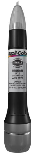 Dupli-Color ANS0598 Metallic Silver Mist Nissan Exact-Match Scratch Fix All-in-1 Touch-Up Paint - 0.5 oz.