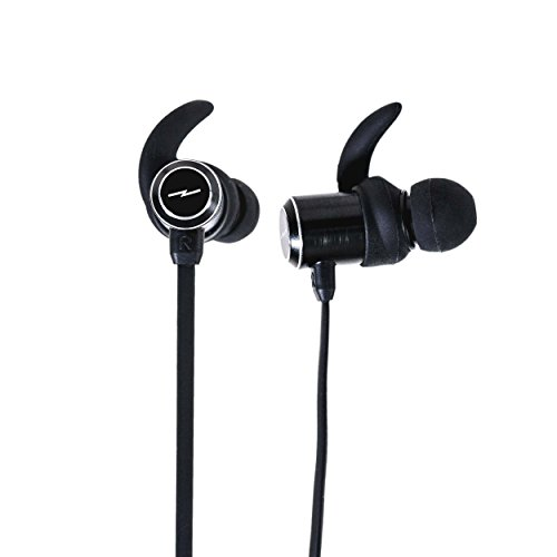 LSTN Bolt Wireless Fitness Earbuds with in-Line Controls in Black