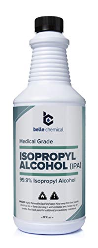 Medical Grade Alcohol (32oz) - No Methanol - No Foul Odor - Meets USP Specifications - Approved for Hand and Skin Application (Isopropyl Alcohol (99.9%) Medical Grade)