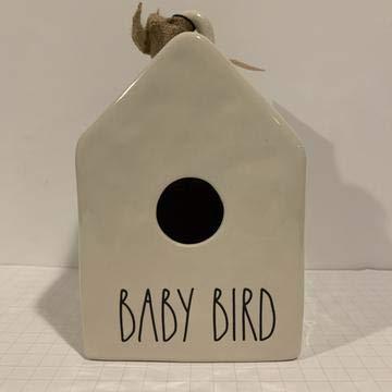 Rae Dunn'BABY BIRD' Birdhouse