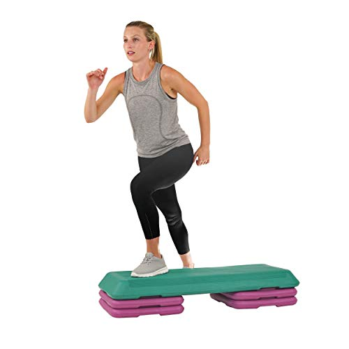 Sunny Health & Fitness Deluxe Aerobic Step
