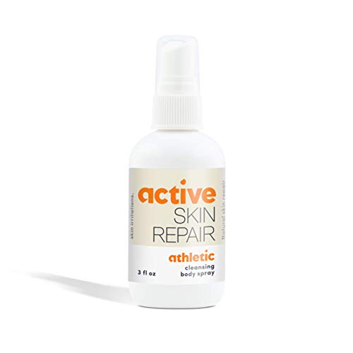 Active Skin Repair Fungus Relief Spray - Natural, Non-Toxic, and No Sting After Sport Treatment for Athletes Foot, Ringworm, Jock Itch, Fungus, and Other Skin Irritations (3 oz)
