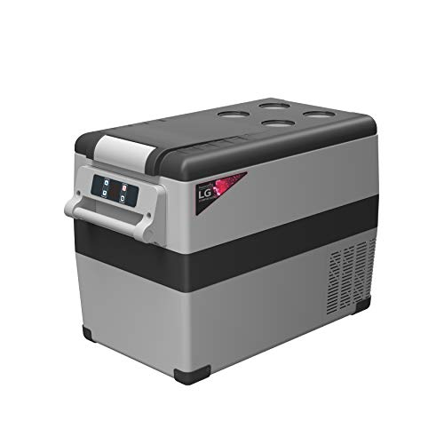 Alpicool LGCF45 Portable Refrigerator 12 Volt Car Freezer 48 Quart Mini Fridge Freezer (-4℉~68℉) for Truck, RV, Vehicle, Travel, Outdoor, Home -12/24V DC and 110-240V AC