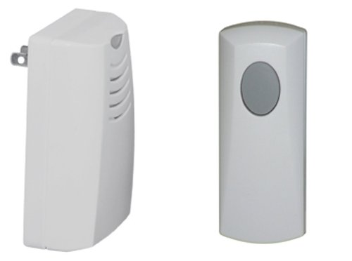 Honeywell RCWL105A1003/N Plug-in Wireless Doorbell / Door Chime and Push Button