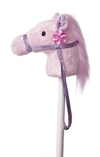 Aurora World World Giddy-Up Fantasy Stick Pony 37' Plush, Pink
