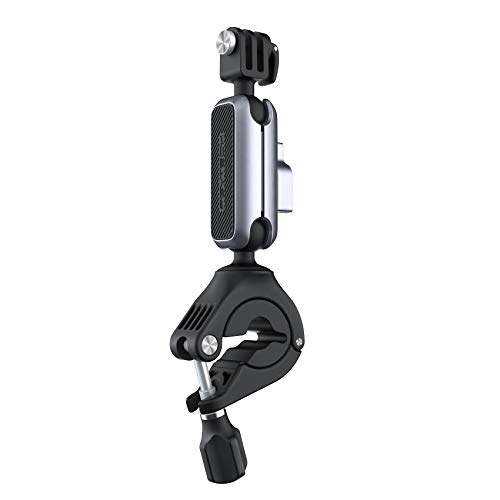 PGYTECH Action Camera Handlebar Mount for GoPro 7/8/9 Adjustable Motorcycle Handlebar for OSMO Action/Pocket 2/ Pocket Action Camera Bike Mount for Insta 360
