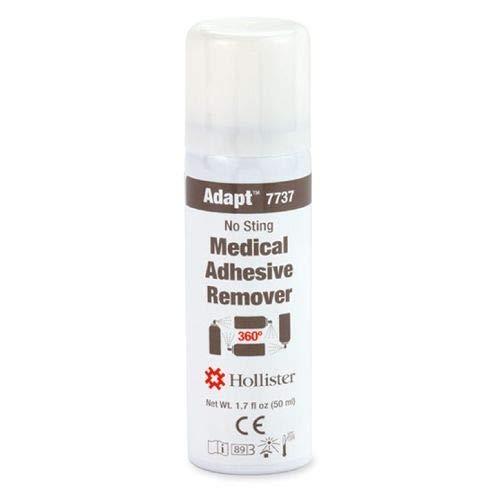 Hollister Adapt Medical Adhesive Remover, No Sting, 360° Spray 1.7 Oz