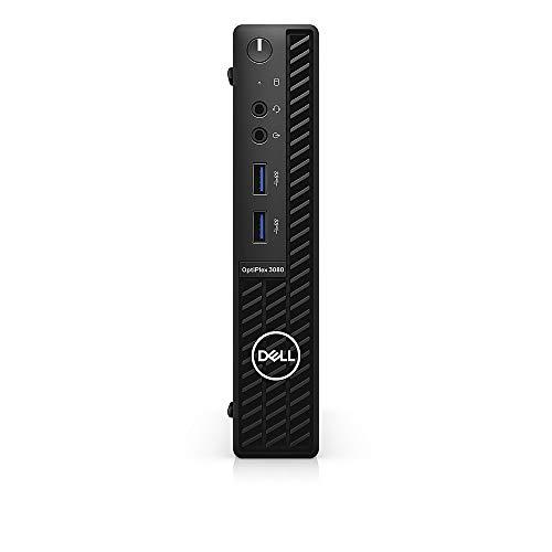 2021 Newest Dell OptiPlex 3080 Micro Form Factor Business Desktop, Intel Core i5-10500T, 32GB DDR4 RAM, 1TB SSD + 2TB HDD, WiFi, HDMI, Bluetooth, Windows 10 Pro