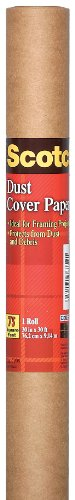 Scotch Dust Cover Paper, 1 Roll, 30 in x 30 ft, Protect Artwork from Dust and Debris (7999-ESF)