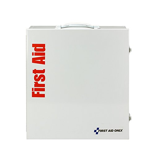 First Aid Only 90603 ANSI 2 Shelf First Aid Station, ANSI B+, Type I & II, without Medications, 100 People, Type I / II, Class B+