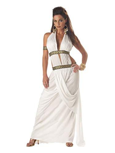 California Costumes Women's Spartan Queen,White,Medium Costume