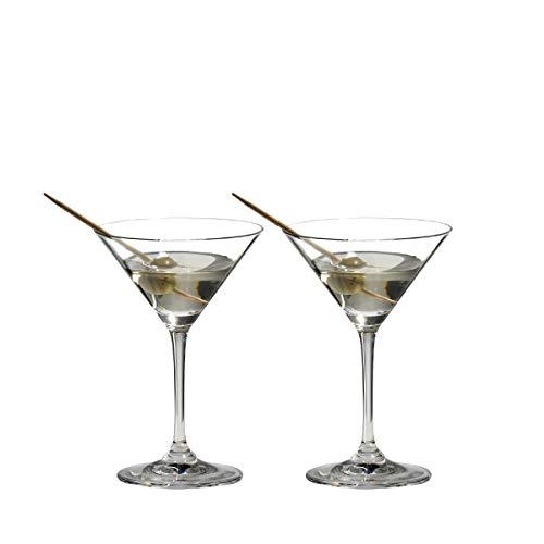 Riedel VINUM Martini Glasses, Set of 2 - ,Clear