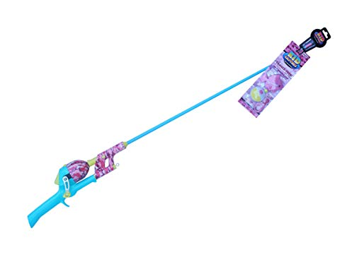 Kid Casters Pink Camo No Tangle Fishing Combo with Bobber, Practice Casting Plug, Multicolor, One Size (KCGSNTWB34)