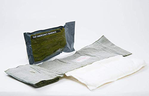 8' / 12' Israeli Multi Bandage with Moisture Seal (for Abdominal Wounds/Amputation)