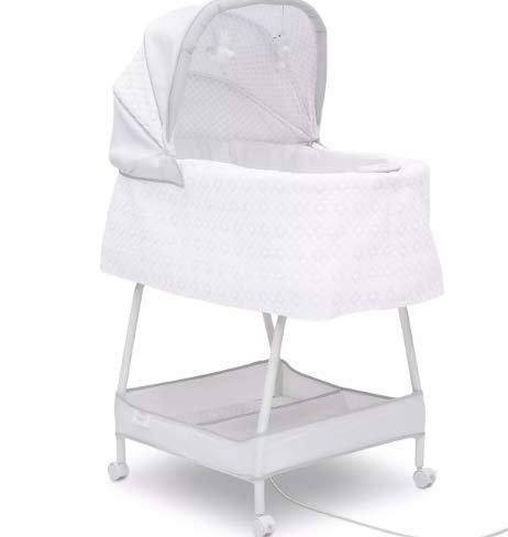 Simmons Kids Silent Automatic Gliding Elite Bassinet - Odyssey