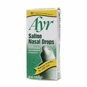 Ayr Saline Nasal Drops 1.69 fl oz (Quantity of 7)