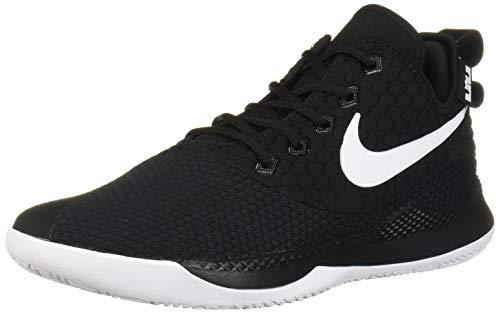 Nike Men's Lebron Witness III Basketball Shoe Black/White/Cool Grey Size 10 M US