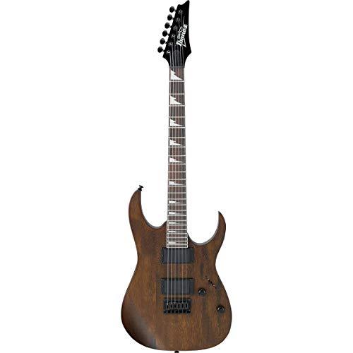 Ibanez GRG 6 String Solid-Body Electric Guitar, Right, Walnut Flat, Full (GRG121DXWNF)
