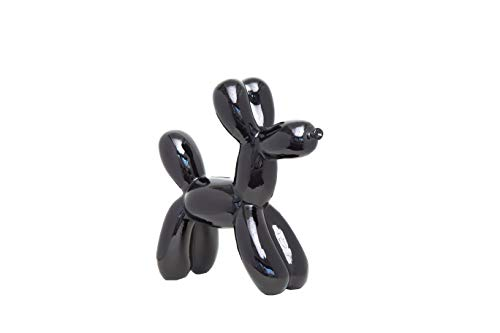 Interior Illusions Plus ii00390 Black Balloon Dog Bank, 12'