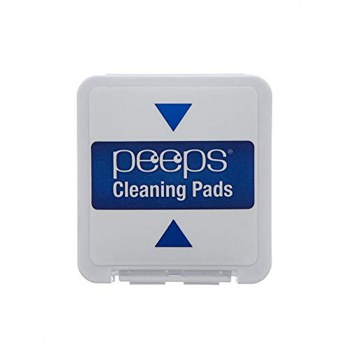 Carbon Klean Peeps Eyeglass Cleaner Replacement Pads, Efficient and Durable Carbon Microfiber Technology - Exclusively Used by NASA (1000 Uses)