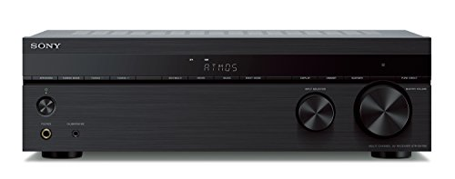 Sony STR-DH790 7.2-ch Surround Sound Home Theater AV Receiver: 4K HDR, Dolby Atmos & Bluetooth