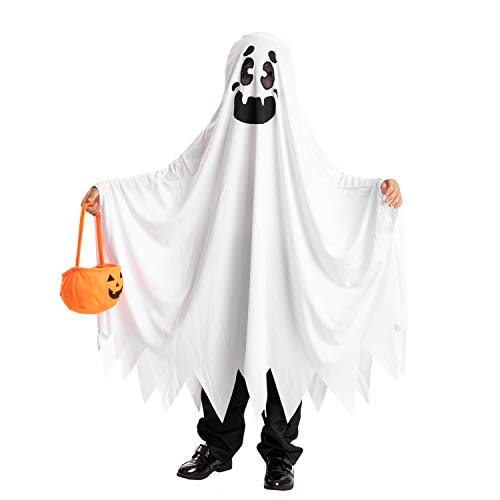 Spooktacular Creations Child Unisex Ghost Halloween Costume Toddler (3-4yr) White