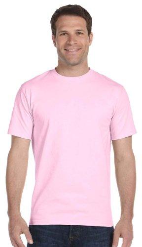 Gildan Mens DryBlend 50 Cotton/50 Poly T-Shirt, XL, Light Pink