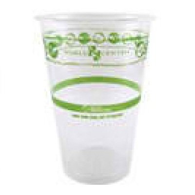World Centric's 100% Biodegradable, 100% Compostable PLA 9 Oz Cold Cup (Package of 200)