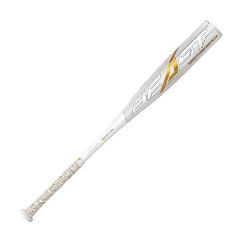 Easton Beast Speed -10 (2 5/8') USSSA Senior League Baseball Bat   29 inch / 19 oz   2019   1 Piece Aluminum   ATAC Alloy   Speed End Cap   Lizard Skin Grip, Multi (8065612)