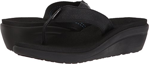 Teva Voya Wedge Motif Blackout 9