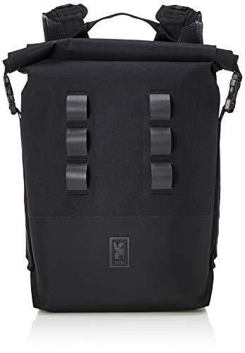 Chrome Industries Urban Ex 2.0 Rolltop 20L Backpack 21 Liter, Black