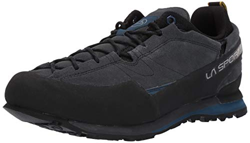 La Sportiva Boulder X Approach Shoe, Carbon/Opal, 40