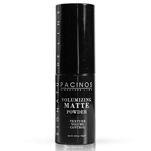 Pacinos Matte Texturizing Hair Powder - Volumizing Powder Adds Texture, Volume, Control & Absorbs Excess Oil for a Natural Finish - Styling Texture Powder for All Hair Types