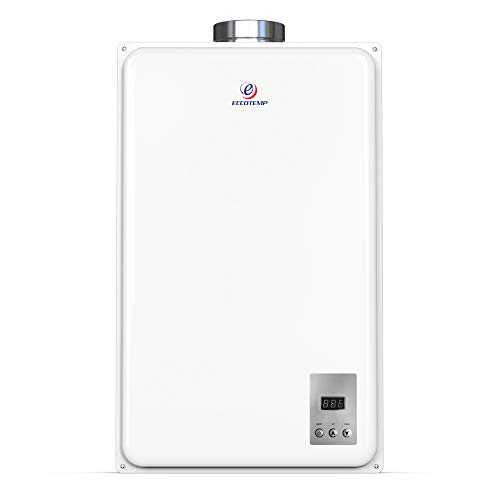 Eccotemp 45HI-NG Indoor 6.8 GPM Natural Gas Tankless Water Heater, White
