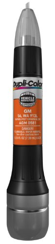 Dupli-Color AGM0581 Metallic Sunburst Orange General Motors Exact-Match Scratch Fix All-in-1 Touch-Up Paint - 0.5 oz.