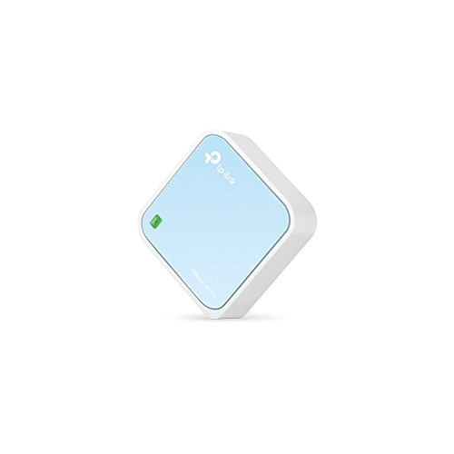 TP-Link N300 Wireless Portable Nano Travel Router(TL-WR802N) - WiFi Bridge/Range Extender/Access Point/Client Modes, Mobile in Pocket