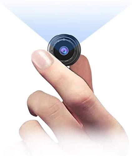 Mini Hidden Cameras - Spy Camera, NIYPS 1080P Wireless Body Nanny Cam, Security Cameras with Motion Detection and IR Night Vision, Tiny Secret Security Cameras for Outdoor/Indoor Using No WiFi Needed