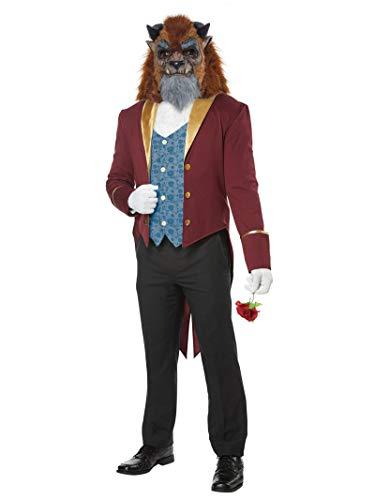 California Costumes Men's Storybook Beast Costume, multi, Large