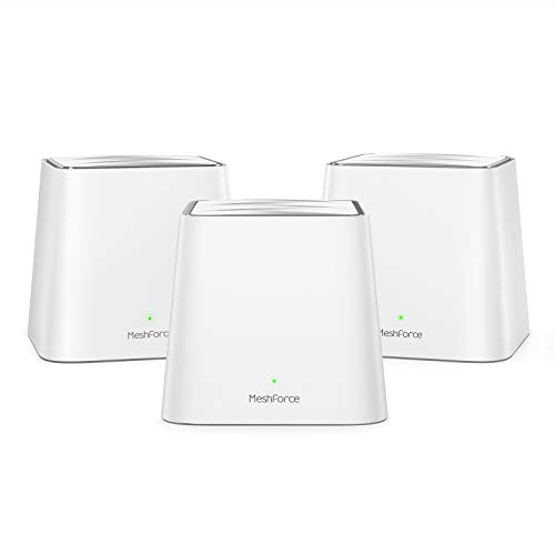 Meshforce Mesh WiFi System M3s Suite - Up to 6,000 sq. ft. Whole Home Coverage - Gigabit WiFi Router Replacement - Mesh Router for Wireless Internet (3-Pack)