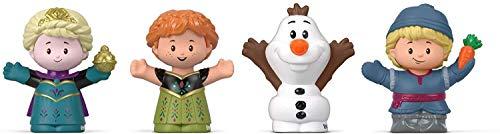 Fisher-Price - Disney Frozen Elsa & Friends by Little People, Figure 4-Pack