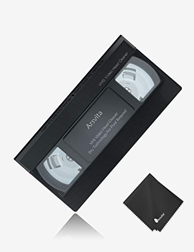 Arsvita VHS Video Head Cleaner for VHS/VCR Players