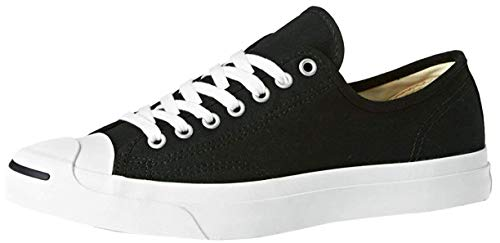 Converse Unisex Jack Purcell CP Canvas Low Top Black/White Sneaker