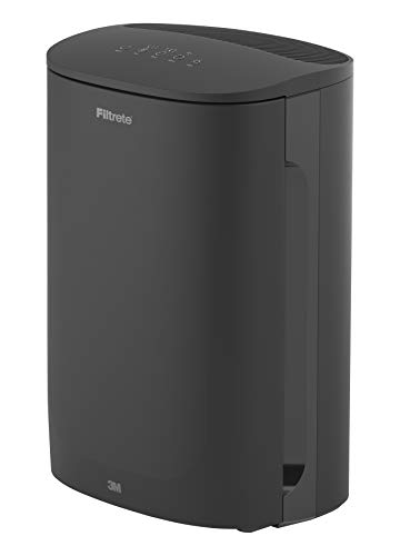 Filtrete Air Purifier, Large Room with True HEPA Filter, Captures 99.97% of Airborne Smoke, Dust, Orders, Pollen, for 250 Sq. Ft. Office, Bedroom, Kitchen and more