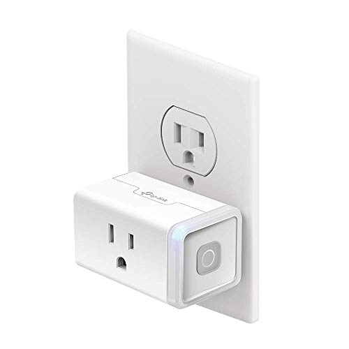 Kasa Smart Plug by TP-Link, Smart Home WiFi Outlet Works with Alexa, Echo, Google Home & IFTTT, No Hub Required, Remote Control, 12 Amp, UL Certified, 1-Pack (HS103)