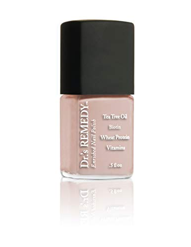 Dr.'s Remedy Organic Nail Polish Long Lasting Treatment For Nails And Toenail Formulated By A Physician (Pale Peach)