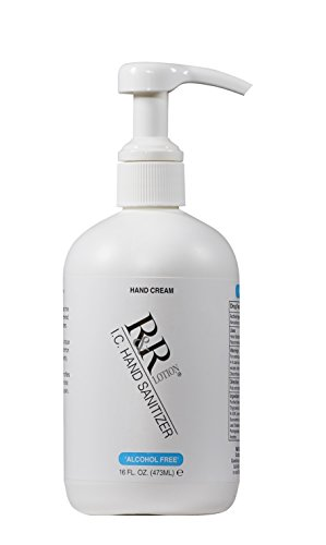 "R&R Lotion - ICBL-16 Sanitizer ""Alcohol Free"" Formulated as a Moisturizing Hand Cream Using The Antiseptic 'BZK"" to Kill Germs. NSF Cert, FDA Reg, Fragrance & Paraben Free, ASTM, Pat Pend. USA"