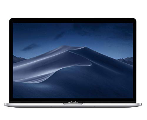 Apple 15.4' MacBook Pro Retina Display, Touch Bar, 2.2GHz ,Intel Core i7 Six-Core, 16GB RAM, 256GB SSD - Silver (Renewed)