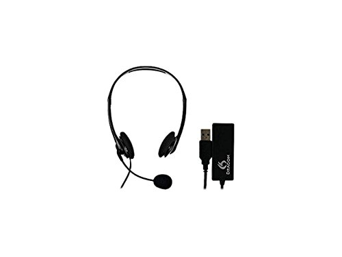 Nuance Dragon Analog Headset and USB Adapter Combo HS-GEN-C-USB
